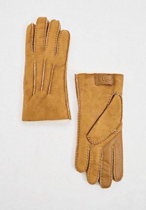 Перчатки UGG. Цвет: коричневый