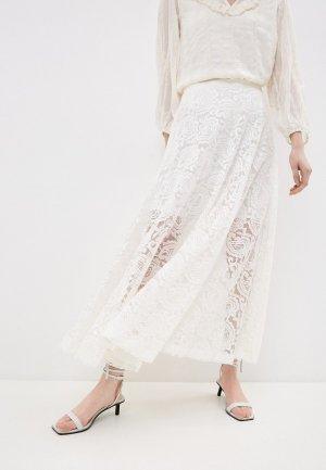 Юбка Liu Jo. Цвет: белый