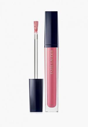 Блеск для губ Estee Lauder. Цвет: розовый