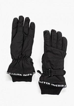Перчатки Gulliver. Цвет: черный