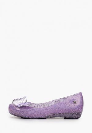 Балетки Melissa. Цвет: фиолетовый