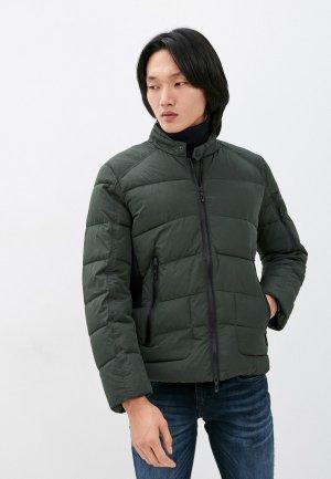 Куртка утепленная Antony Morato. Цвет: зеленый