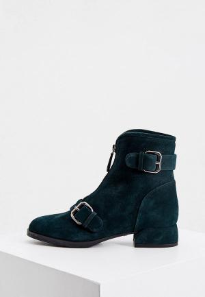 Ботинки Loriblu. Цвет: зеленый