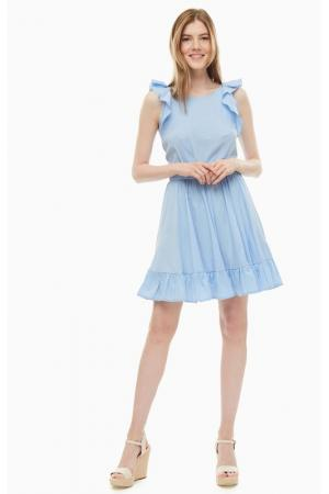 Платье KOCCA. Цвет: голубой