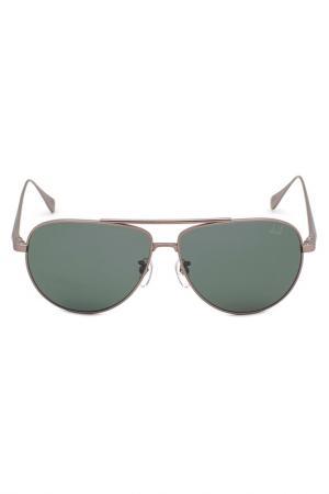 Солнцезащитные очки DUNHILL. Цвет: серый