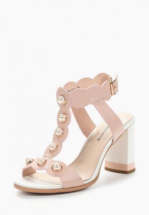 Босоножки King Boots. Цвет: розовый