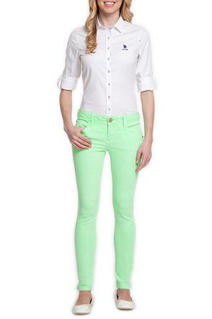 Джинсы U.S. Polo Assn.. Цвет: 723 зеленый