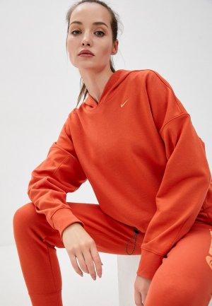Худи Nike. Цвет: оранжевый