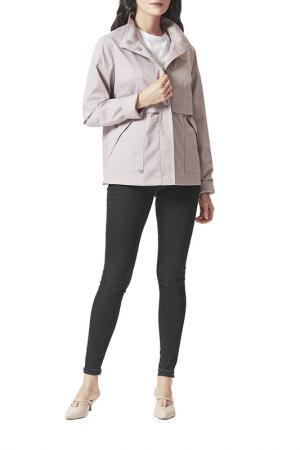 Куртка DIMMA. Цвет: серо-розовый