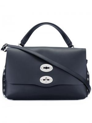 Большая сумка Original Silk Zanellato. Цвет: чёрный