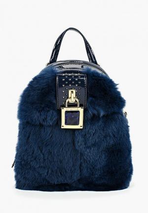 Рюкзак Cromia. Цвет: синий