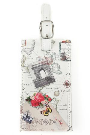 Брелок Эйфелева башня Русские подарки. Цвет: мульти