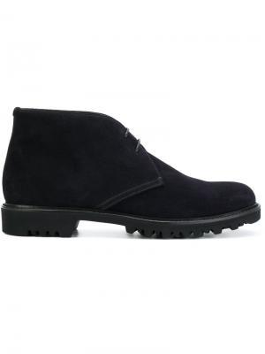 Ботинки-дезерты Giorgio Armani. Цвет: чёрный