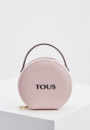 Косметичка Tous. Цвет: розовый