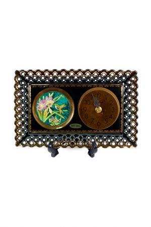 Часы декоративные Chokin Art. Цвет: черный