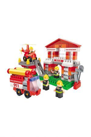 Конструктор Fireman BAUER. Цвет: красный