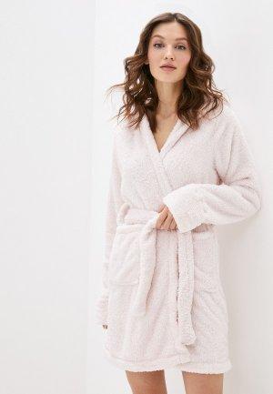 Халат домашний Cotton On. Цвет: розовый