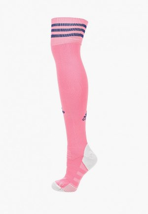 Гетры adidas. Цвет: розовый