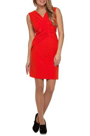 Платье Gloss. Цвет: оранжевый