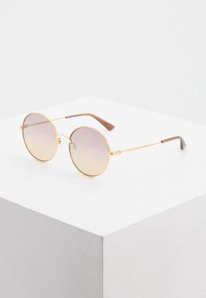 Очки солнцезащитные McQ Alexander McQueen. Цвет: золотой