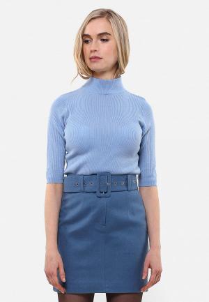 Водолазка Sana.moda. Цвет: голубой