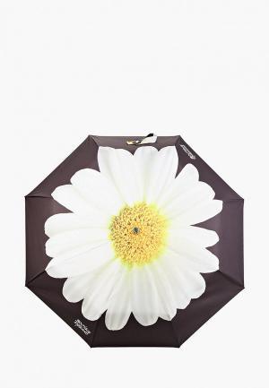 Зонт складной Boutique Moschino. Цвет: черный