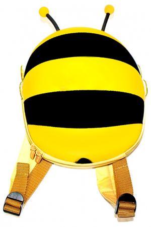 Ранец детский «пчелка» BRADEX. Цвет: желтый