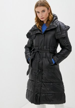 Куртка утепленная Marcella. Цвет: черный