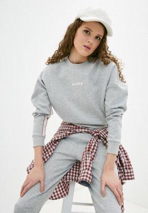Свитшот Guess Jeans. Цвет: серый