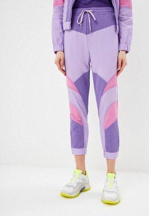 Брюки спортивные P Jean. Цвет: фиолетовый