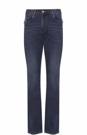 Расклешенные джинсы Paul&Shark. Цвет: темно-синий