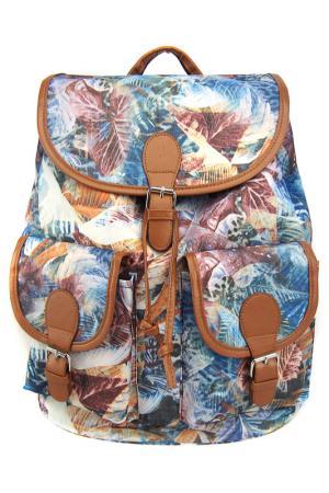 Рюкзак Флора для тебя CREATIVE. Цвет: коричневый