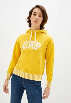 Худи Gap. Цвет: желтый