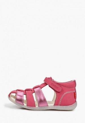 Сандалии Kickers. Цвет: розовый