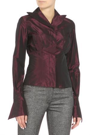 Блуза Gianfranco Ferre. Цвет: фиолетовый