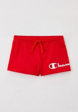 Шорты Champion. Цвет: красный