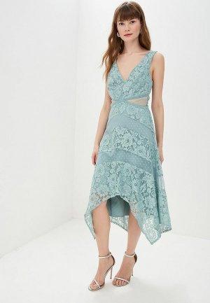 Платье Little Mistress. Цвет: бирюзовый