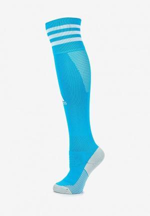 Гетры adidas. Цвет: голубой