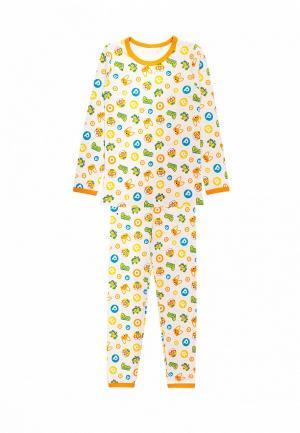 Пижама Tokki. Цвет: желтый