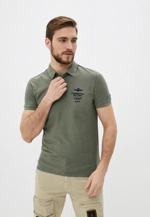 Поло Aeronautica Militare. Цвет: хаки