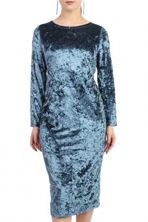 Платье LACY. Цвет: серый