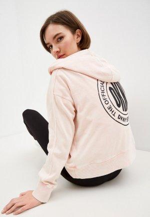 Худи DKNY. Цвет: розовый