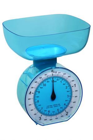 Весы кухонные, 5 кг Федерация. Цвет: голубой