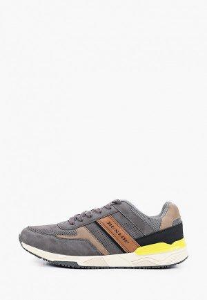 Кроссовки Dunlop. Цвет: серый