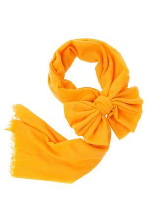 Палантин Michel Katana. Цвет: оранжевый