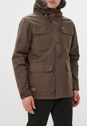 Куртка утепленная Globe. Цвет: хаки
