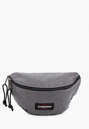 Сумка поясная Eastpak. Цвет: серый