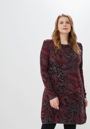 Платье Milana Style. Цвет: серый