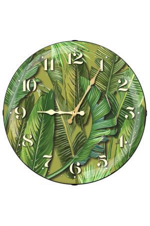 Часы настенные MIA. Цвет: зеленый