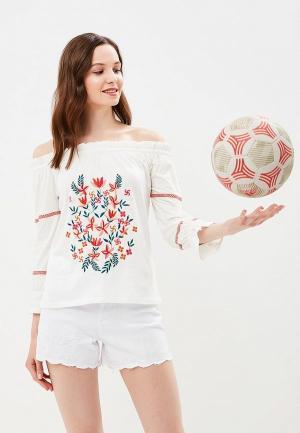 Блуза Dorothy Perkins. Цвет: белый